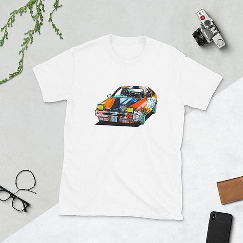 Graffiti Hatch-Back Short-Sleeve T-Shirt