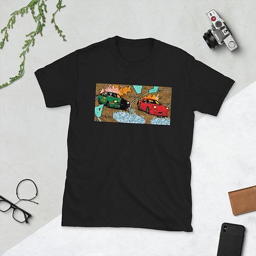 Burnout Short-Sleeve Unisex T-Shirt