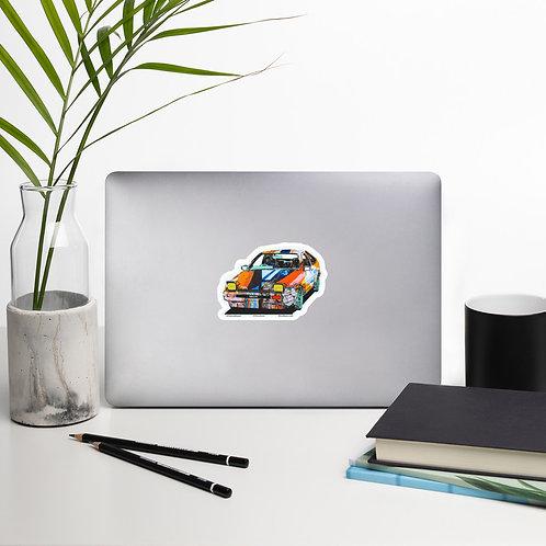 Graffiti Hatchback Bubble-free stickers