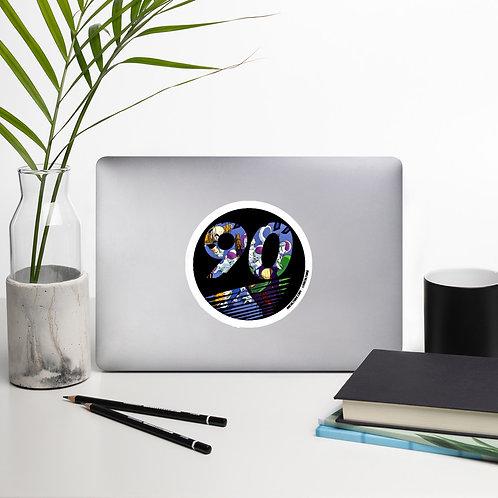 90culture Logo Namek Saga Bubble-free stickers