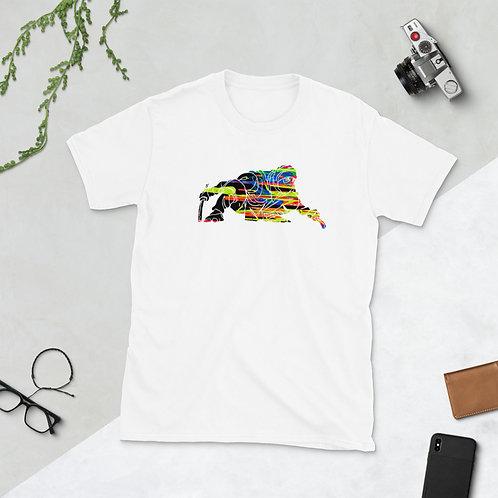 Ninja Drip Dark Short-Sleeve Unisex T-Shirt