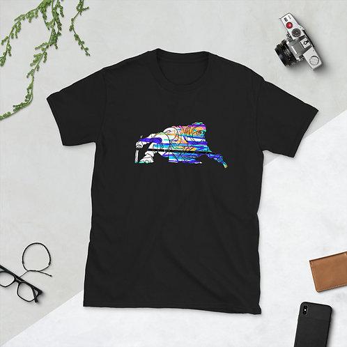 Ninja Drip Light Short-Sleeve Unisex T-Shirt