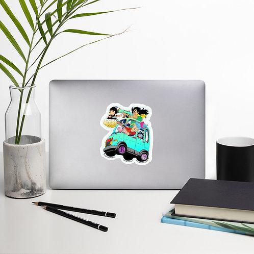 Gang Sh*t Bubble-free stickers