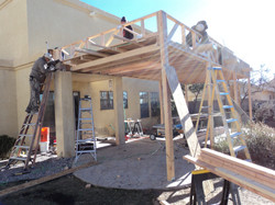 decks and patios construction