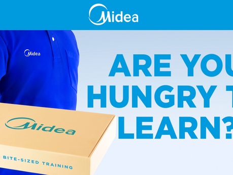 Free Training? That's so last year. Now it pays to learn with Midea
