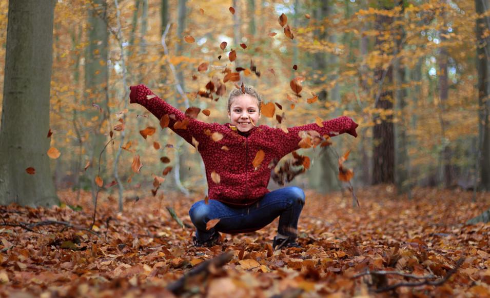 Blätterspaß in Schwalmtal