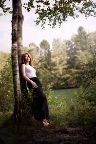 Fotoshooting in Schwalmtal am Venekotensee