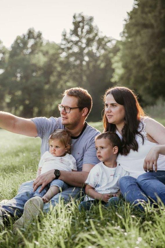 Familienshooting am See in Brüggen
