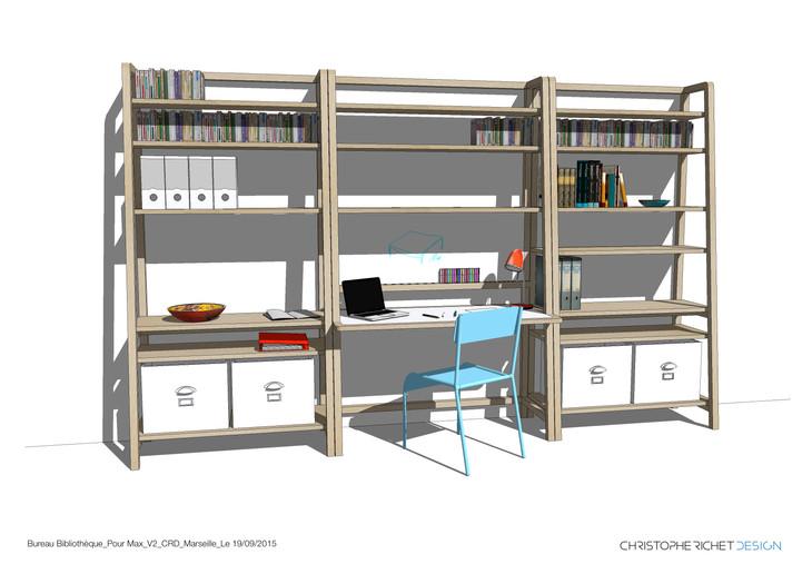 Un bureau bibliothèque