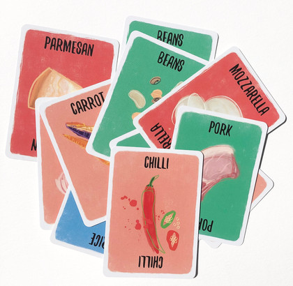 Recipe For Disaster: Ingredient Cards