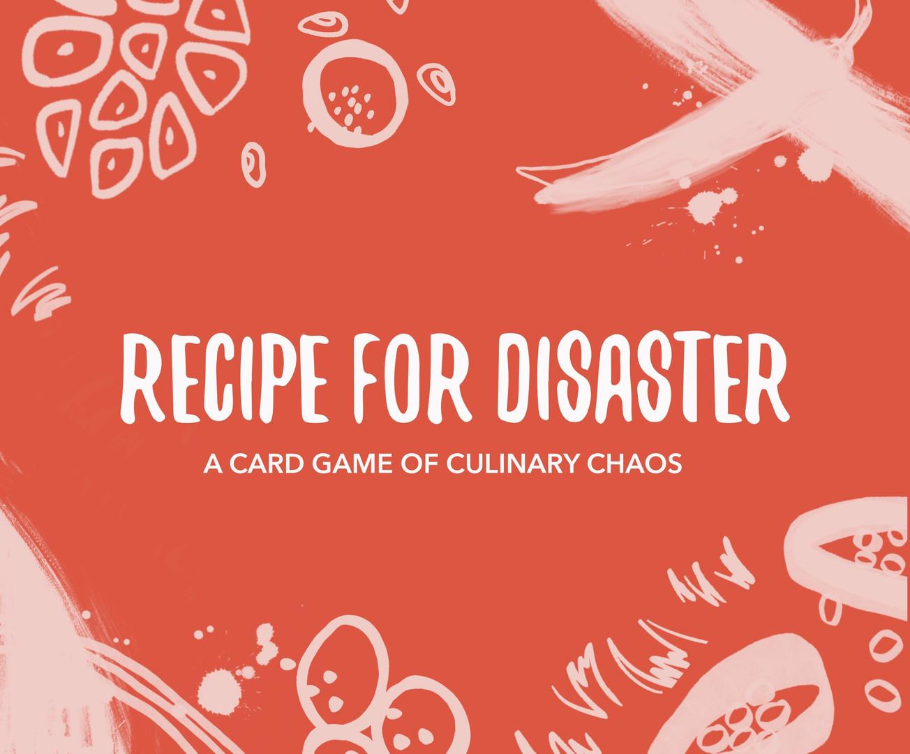 Recipe For Disaster Logo