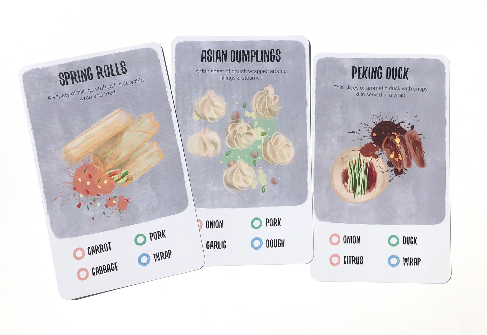 Recipe For Disaster: Order Cards