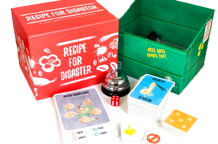 Recipe For Disaster: Game Components