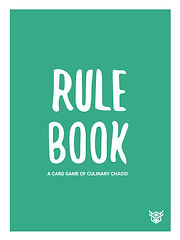 Recipe For Disaster Game Rule Book