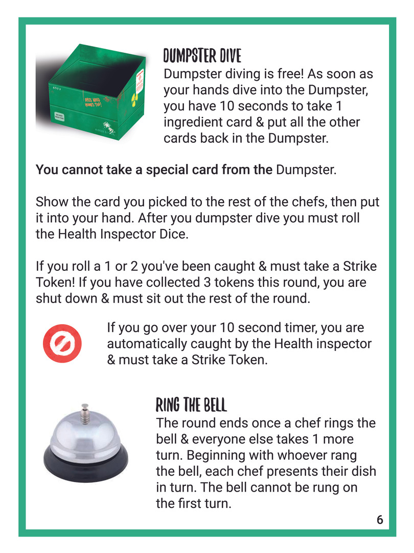 Recipe For Disaster English Rulebook 05