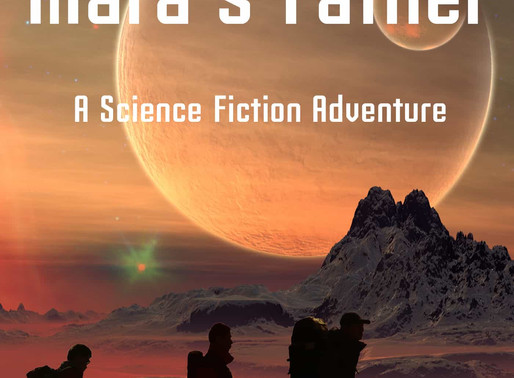 Rescuing Mara's Father, a science fiction adventure by @dmburton72 is a YA Bookish Event pick #scifi
