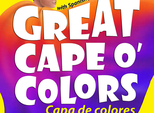 Great Cape o' Colors – Capa de colores (English-Spanish with Pronunciation Guide) by @karlbeckstrand