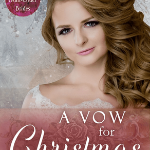 A Vow for Christmas by @lcarrollbradd is a Christmas and Holiday Book Festival Pick #historicalroman