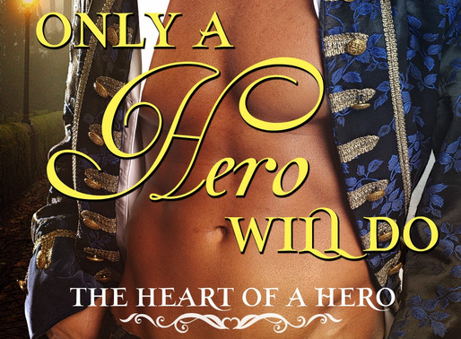 Only a Hero Will Do by @alannalucas27 is a Super Reads Bookish Event pick #regency #romance #books