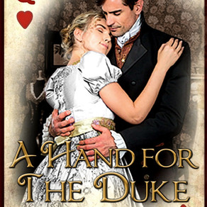 Book Review | A Hand for the Duke (The Ladies' Wagering Whist Society Book 1) by @merrybond #reg