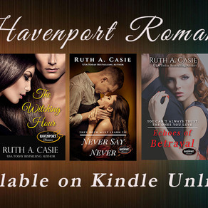 Book Series Recommendation | Havenport Romance by USA Today Bestseller @RuthACasie #romance #romanti