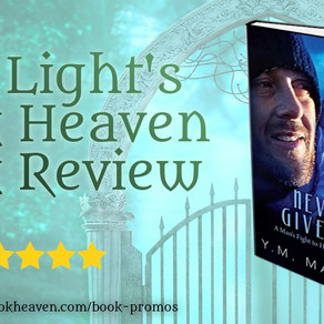 5 stars for Never Give Up: One man's fight to heal his PTSD by Y.M. Masson #historicalfiction