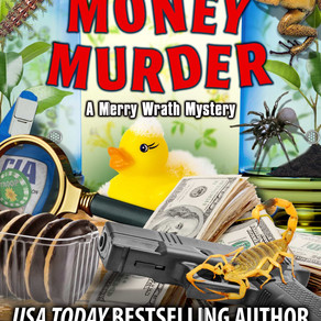New Release | Mad Money Murder by USA Today Bestseller @LeslieLangtry #cozycomedy #cozy #bookboost