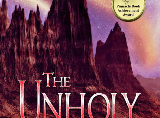 The Unholy by Pinnacle Award-Winning Author @pdeblassieiii is a Snuggle Up Readathon Pick #visionary
