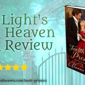 5+ stars for Twelfth Night Promise by @alannalucas27 #regency #holidayromance #bookreview #99cents