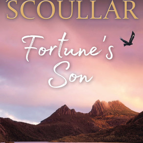 Fortune's Son by Bestseller @JenScoullar is a Snuggle Up Readathon Pick #historicalfiction #saga