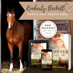 New Release | Her Forever Love, Book 4 in the Horses Heal Hearts Series by @authorkimberly1 #romance