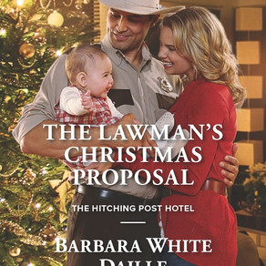 A Husband for Christmas? The Lawman's Christmas Proposal by @BarbaraWDaille #ChristmasinJuly #Christ