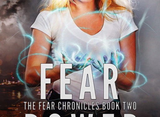 Fear Power (The Fear Chronicles Book 2) by @ccbolick is a YA Bookish Event pick #yalit #urbanfantasy