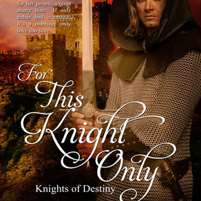 Cover Reveal + #99cents Presale: For This Knight Only by @BarbaraBettis #historicalromance #FridayRe