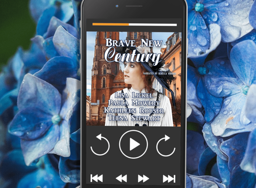 Celebrate Audiobook Month with Brave New Century by @lisajlickel  #audiobook #historicalromance #ins