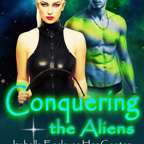 Conquering the Aliens, Volume One - Izabella Enslaves Her Captor by Nelida Coy @SerenaDracis #erotic