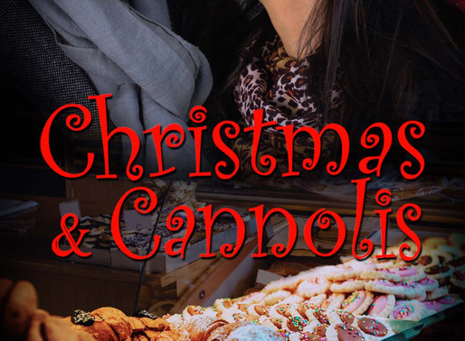 Christmas & Cannolis by Award-Winning Author @peggy_jaeger is a Snuggle Up Readathon Pick #holid
