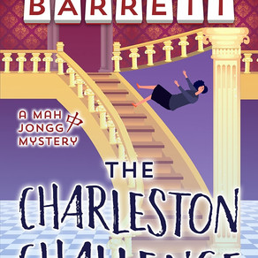 The Charleston Challenge by @bbarrettbooks is a Cozy Mystery Event pick #cozymystery #giveaway