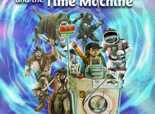 Book Review | Timothy Mean and the Time Machine by @williamaeford #kidlit #bookreview #picturebooks