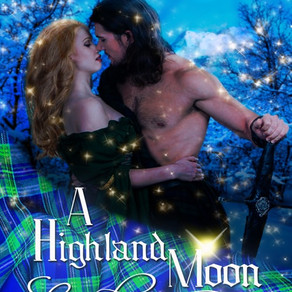 #99cents! A Highland Moon Enchantment by Award-Winning Author @m_morganauthor #ChristmasinJulyFete #