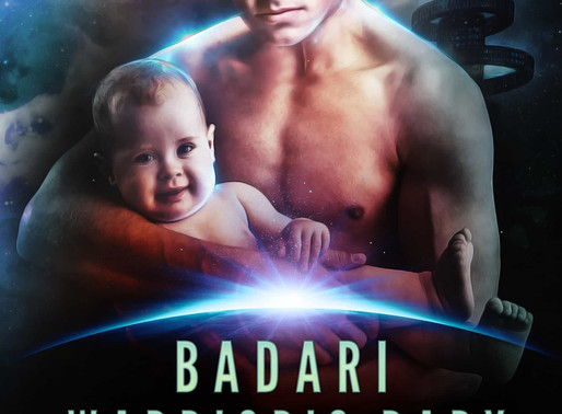 Celebrate fathers with Badari Warrior's Baby by @vscotttheauthor #scifiromance #fathersday #giveaway