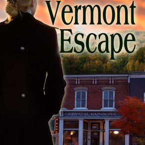 Vermont Escape by @Marsharwest is a Snuggle Up Readathon Pick #romanticsuspense #seasonedromance #gi