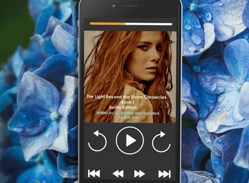 Celebrate Audiobook Month with The Light Beyond the Storm Chronicles by A. L. Butcher @libraryoferan