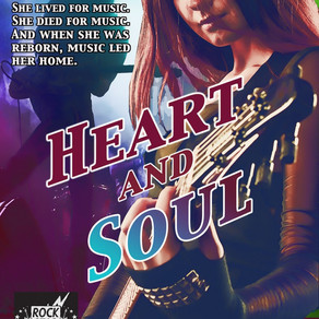 Heart and Soul by @KMNbooks is a Trick or Treat Bonanza pick #paranormal #giveaway #mustread