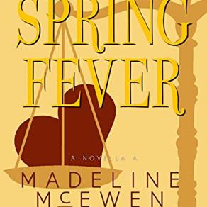 Spring Fever by Madeline McEwen #ChristmasinJulyFete #giveaway #mmromance #eroticcaper