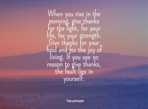 When You Rise in the Morning, Give Thanks. . . #inspiration #MondayBlogs #MondayMotivation