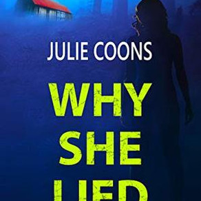 Book Review | Why She Lied by @JulieCoons1 #thriller #truecrime #bookreview
