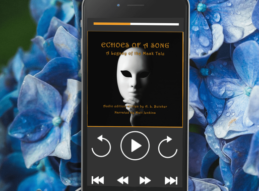 Celebrate Audiobook Month with Echoes of a Song by A. L. Butcher @libraryoferana #historicalfantasy