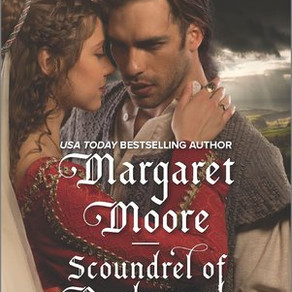 Scoundrel of Dunborough (The Knights' Prizes) by Margaret Moore @MargMooreAuthor #historicalroma