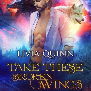 He Would Soar on the Wings of Love... Take These Broken Wings by @LiviaQuinn #paranormalromance #PNR